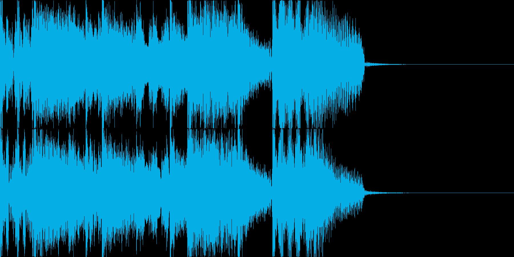 サウンドロゴ ジングル CM 3の再生済みの波形