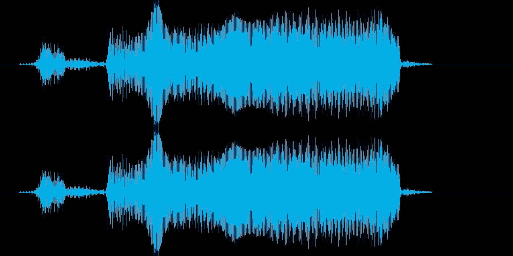 「がんばれー!!」の再生済みの波形