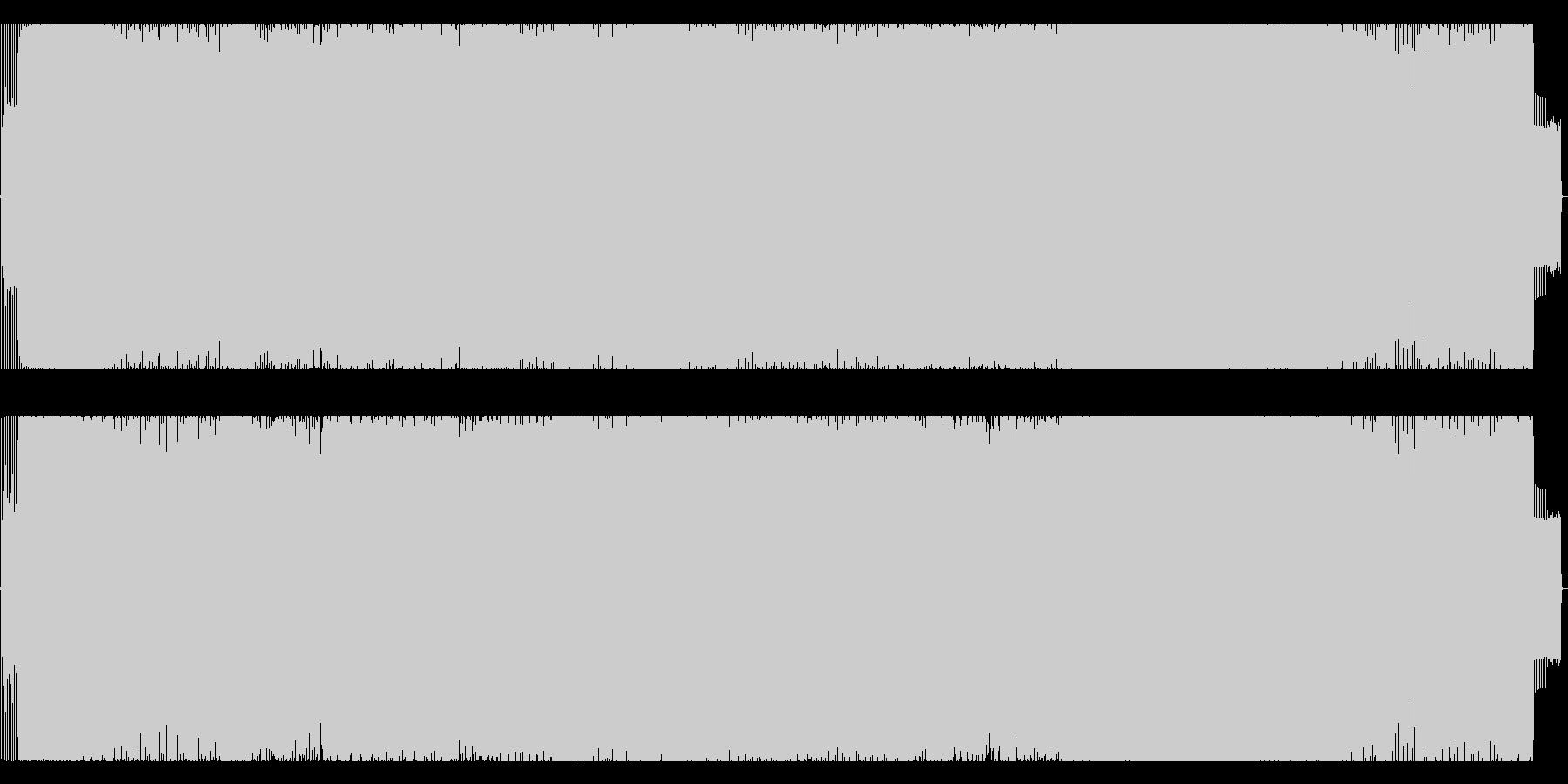 ジャジーなアシッドテクノの未再生の波形