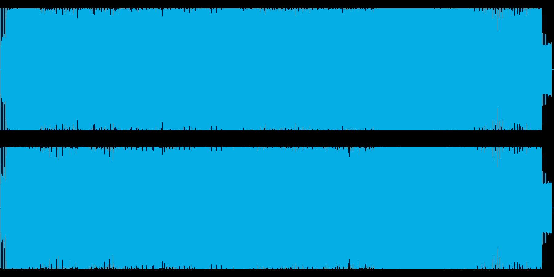 ジャジーなアシッドテクノの再生済みの波形