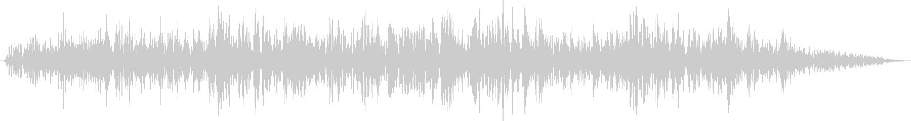 【ゴォ〜】地震、地響き、地鳴り 7の未再生の波形