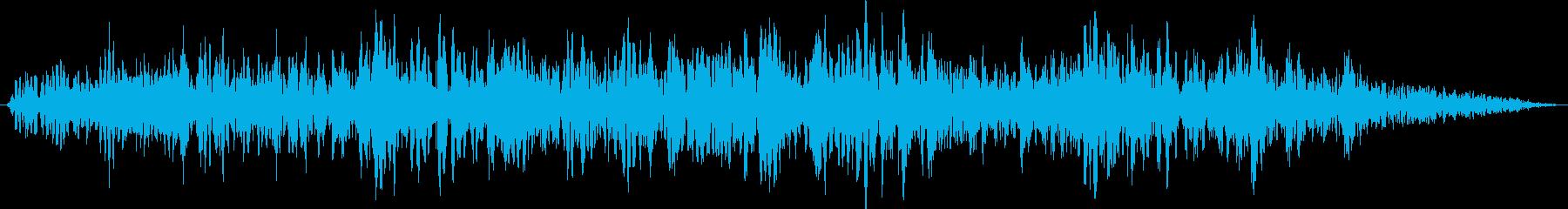 【ゴォ〜】地震、地響き、地鳴り 7の再生済みの波形
