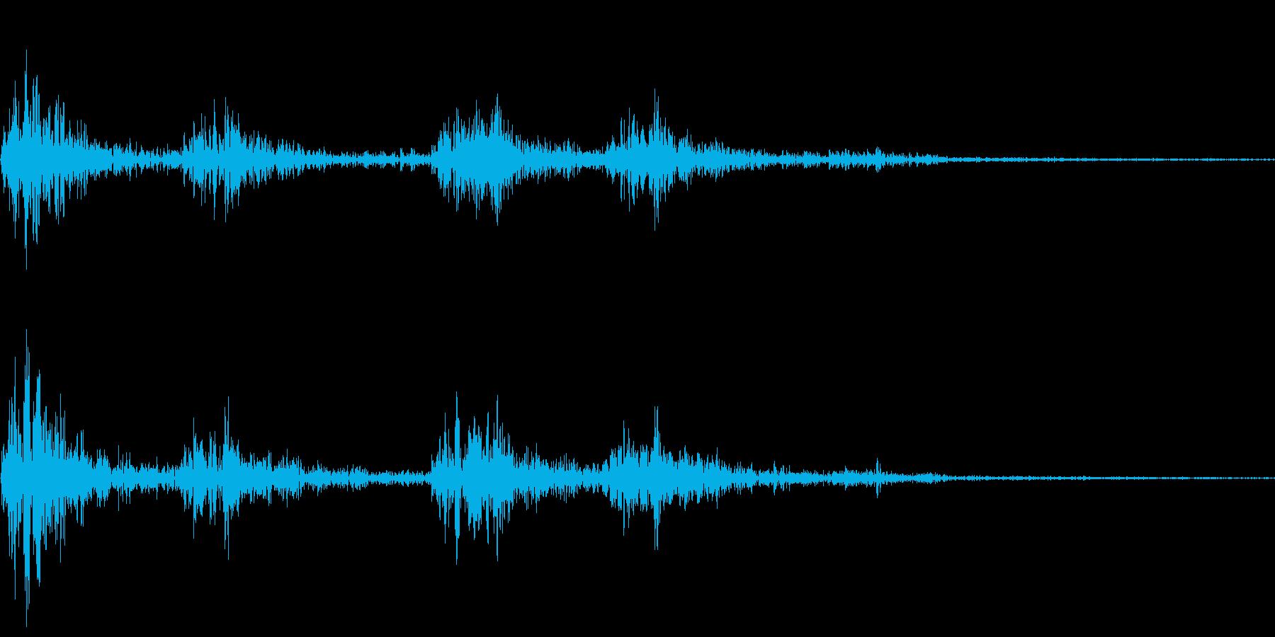 ガタンゴトン03(新幹線)の再生済みの波形
