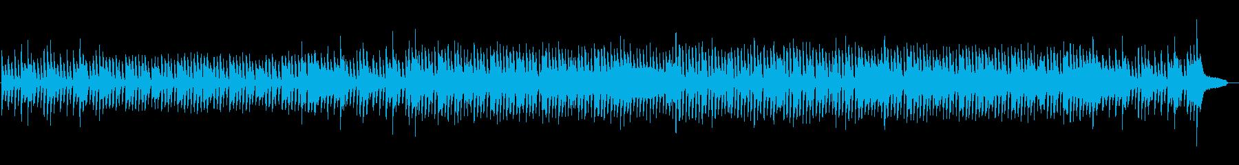 口笛メロディのほのぼのコーポレートBGMの再生済みの波形