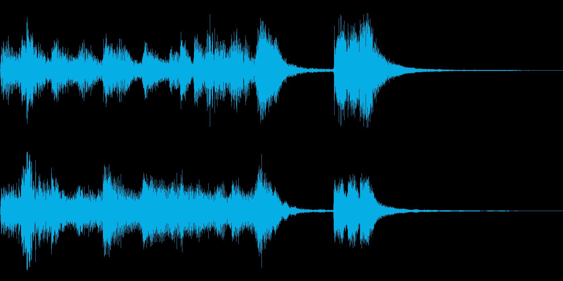ピアノ+オケ~エリーゼのために~ジングルの再生済みの波形