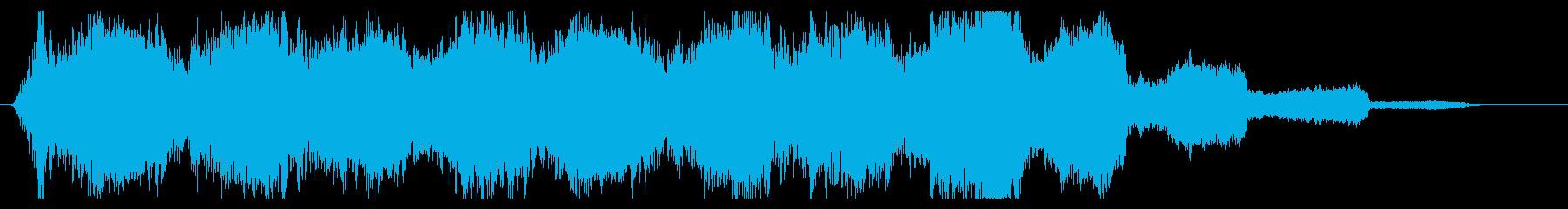 ベル系ミステリアス、幻想的、不気味 02の再生済みの波形