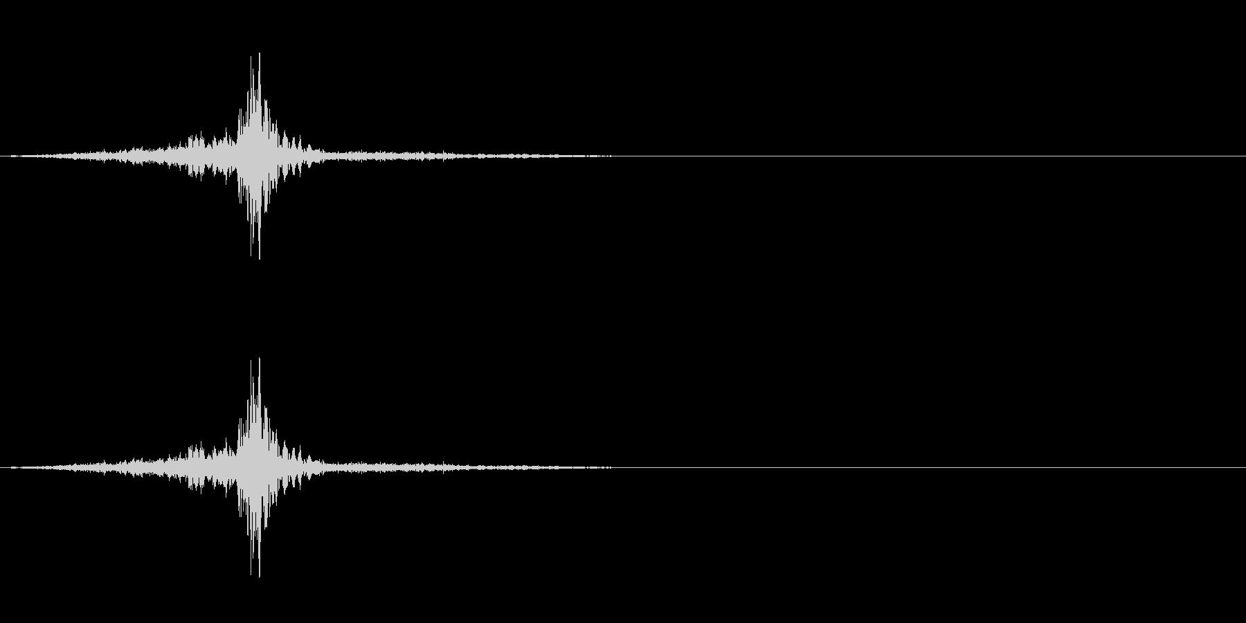 シルク・ナイロン・広げる3の未再生の波形