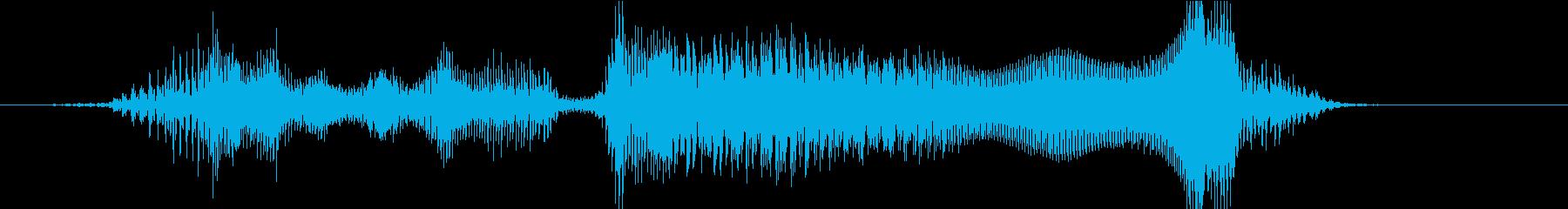 「大正解ーー!!」の再生済みの波形