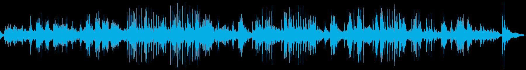 展覧会の絵より「古い城」(ピアノソロ)の再生済みの波形