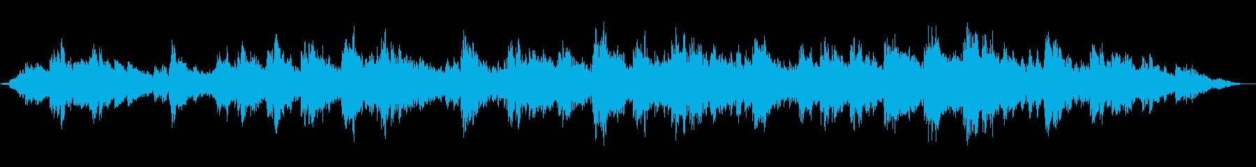 ポロンポロン不思議な雰囲気のアンビエントの再生済みの波形