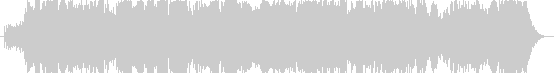 寂しげなオーケストラ楽曲、1分20秒の未再生の波形