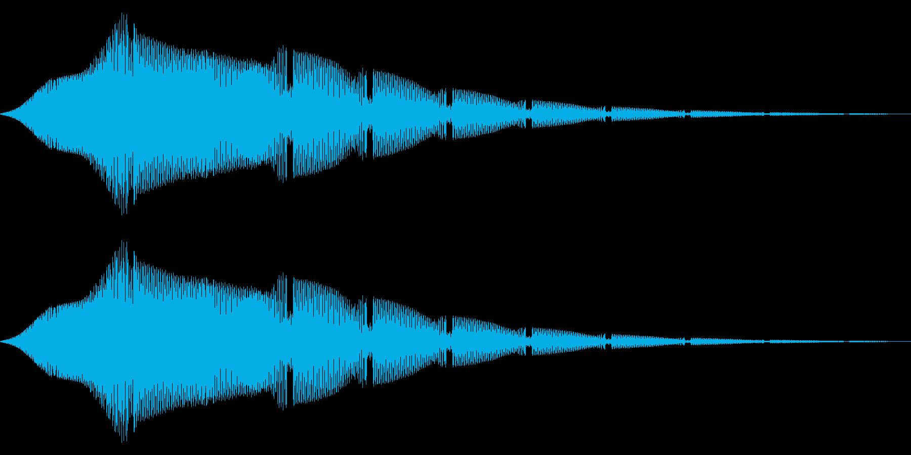 ステータスアップ・アイテムゲット2の再生済みの波形
