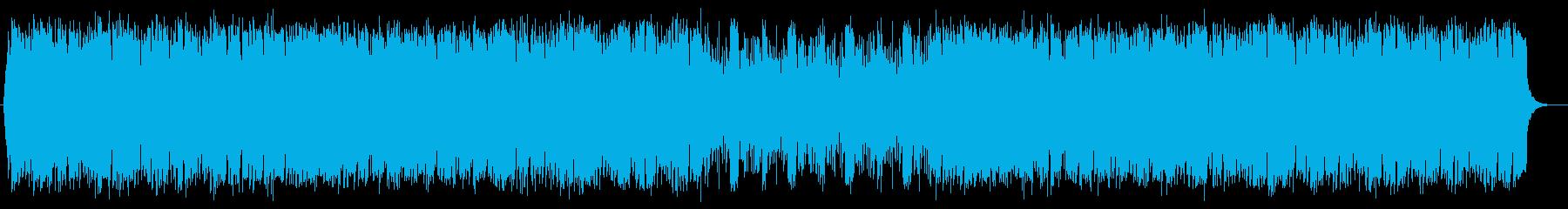 サンバラテンポップスの再生済みの波形