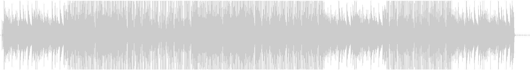 ジャジーで渋い大人のヒップホップの未再生の波形