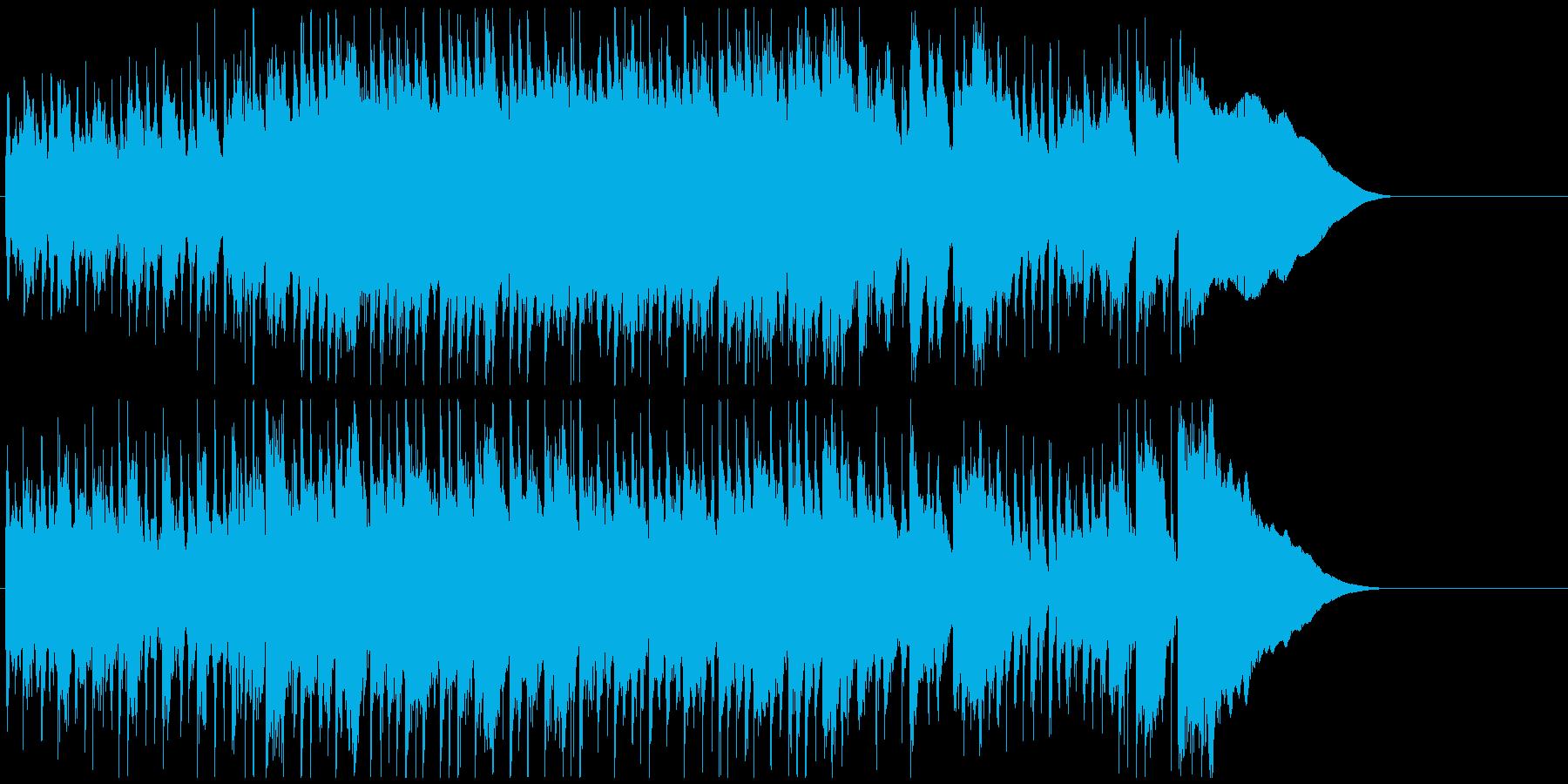 オープニングジングル 爽やかソフトロックの再生済みの波形