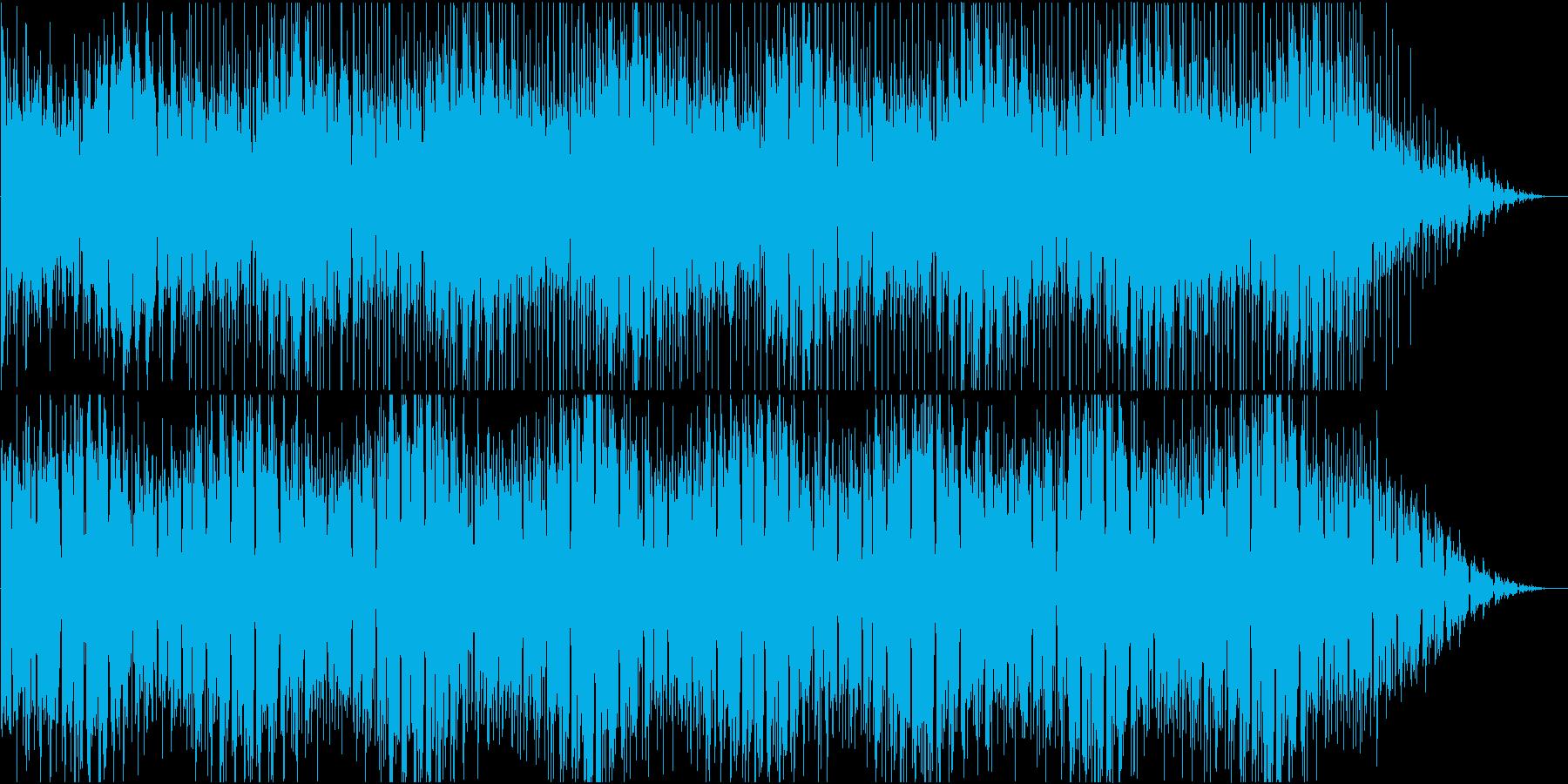 テクノロジーを感じさせるシンセ音源。の再生済みの波形