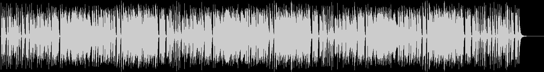 インパクトあるメロディがおもしろいピアノの未再生の波形