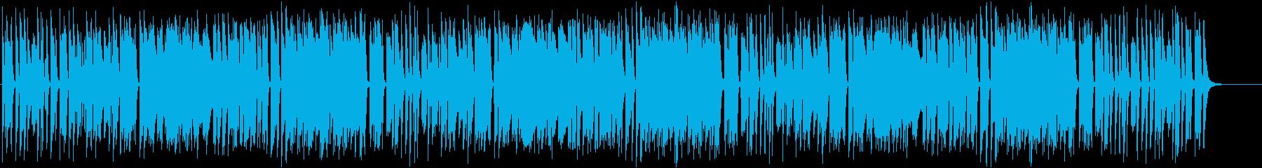 インパクトあるメロディがおもしろいピアノの再生済みの波形