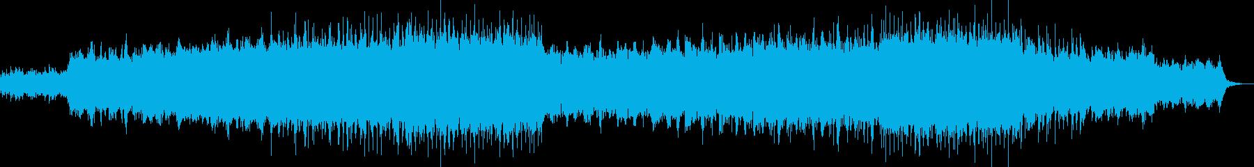 優雅な雰囲気を奏でるバラード調BGMの再生済みの波形