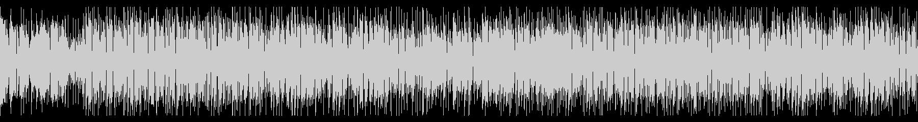 クールなギターカッティング/ファンク調の未再生の波形