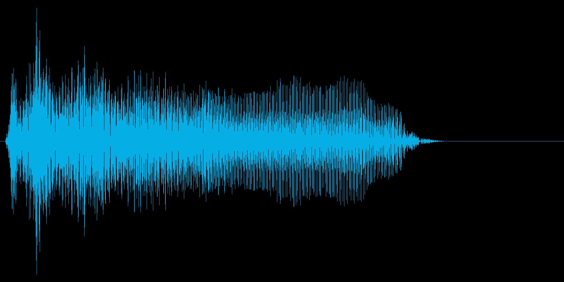 ゲーム掛け声ゾンビ1オー5の再生済みの波形