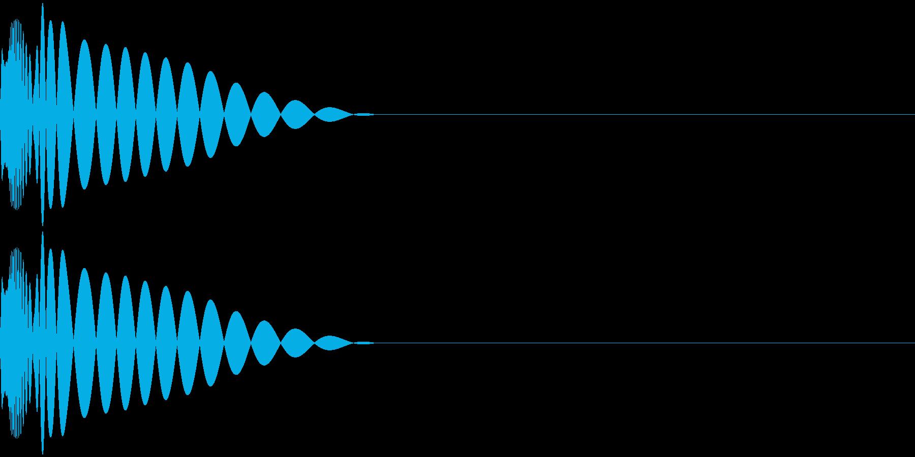 DTM Kick 49 オリジナル音源の再生済みの波形