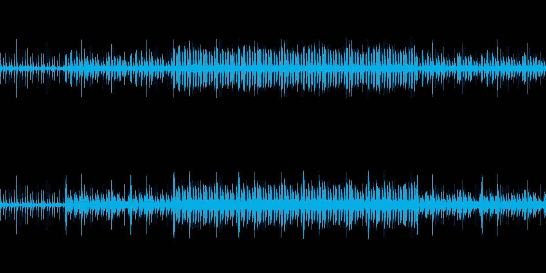 【ファンタジーなエレクトロニカ】の再生済みの波形