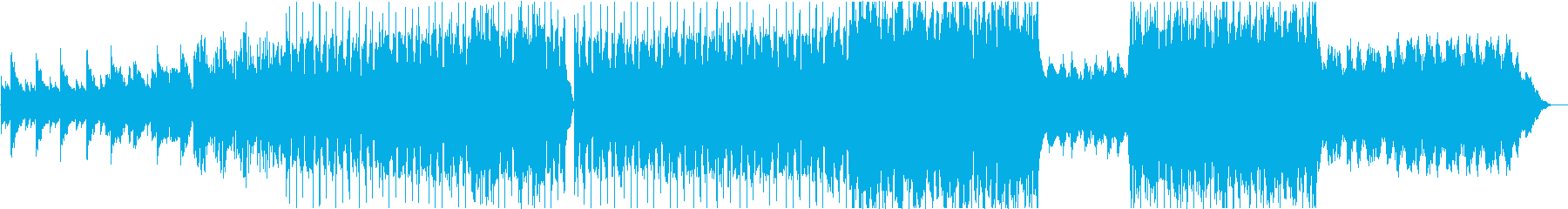 ストリングスが壮大なミニマルなバラード♪の再生済みの波形