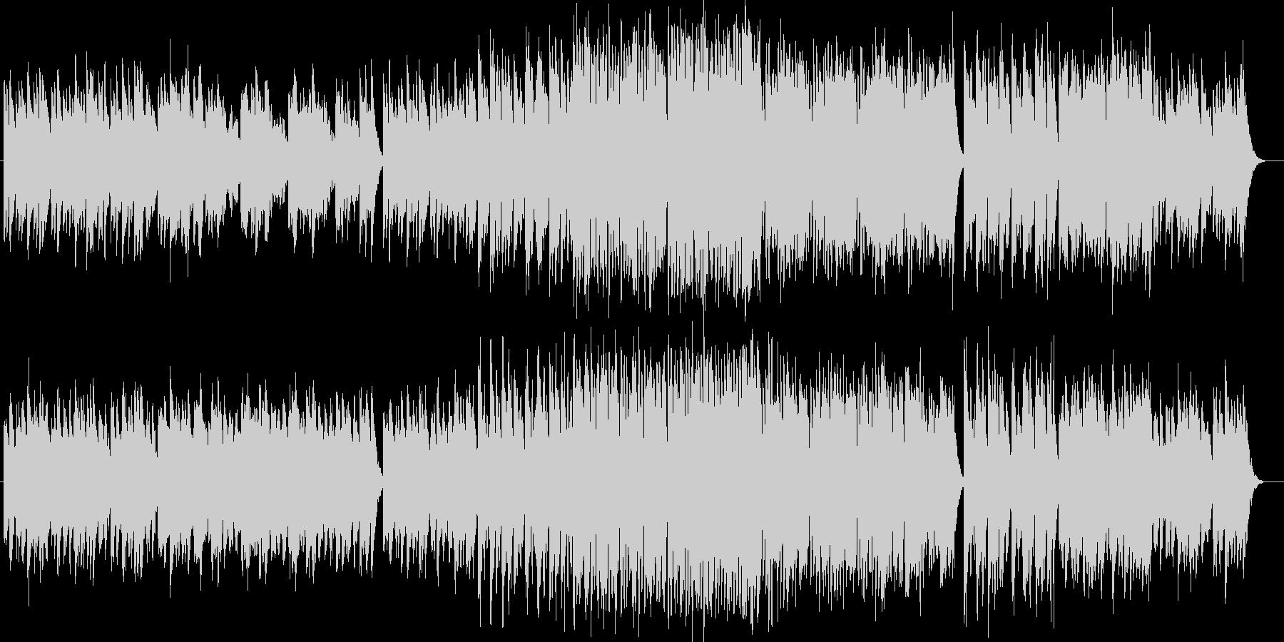 美しい音色のオルゴールシンセなどの曲の未再生の波形