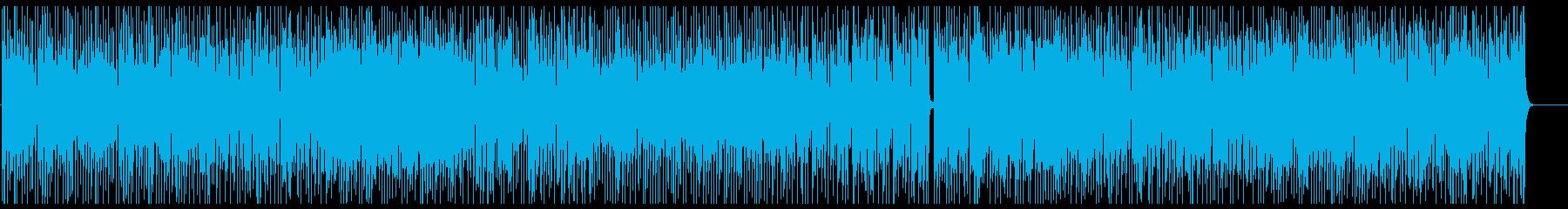 PFメロのシャッフルお洒落音楽。ダンス。の再生済みの波形