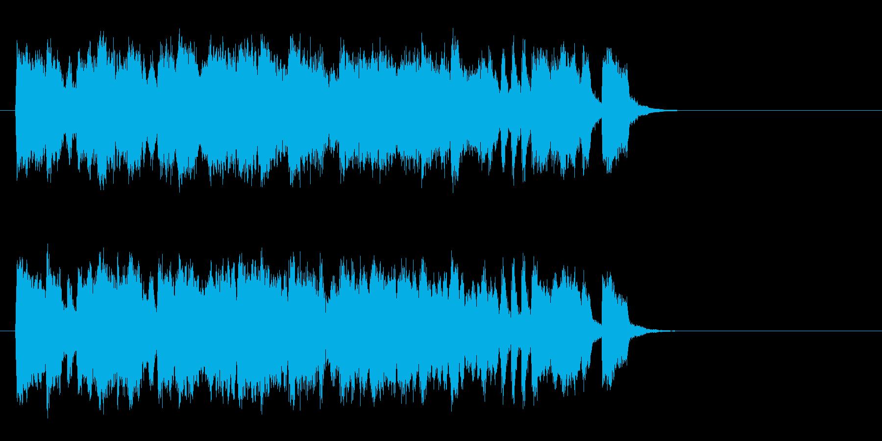 春を思わせるセミ・クラ(サビ)の再生済みの波形