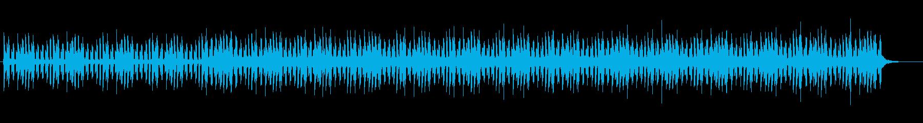 近未来的で神秘的なスピリチュアルサウンドの再生済みの波形