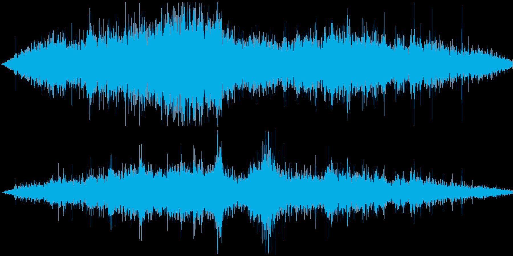 【波打ち際/海/船/ざざーん/SE/】の再生済みの波形