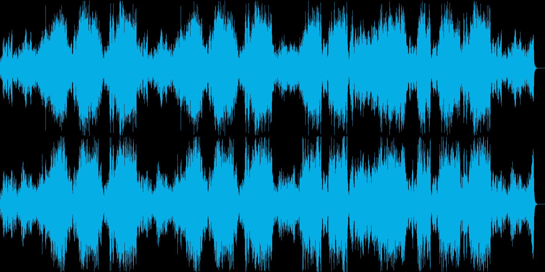 バッハカンタータ BWV140 .1の再生済みの波形
