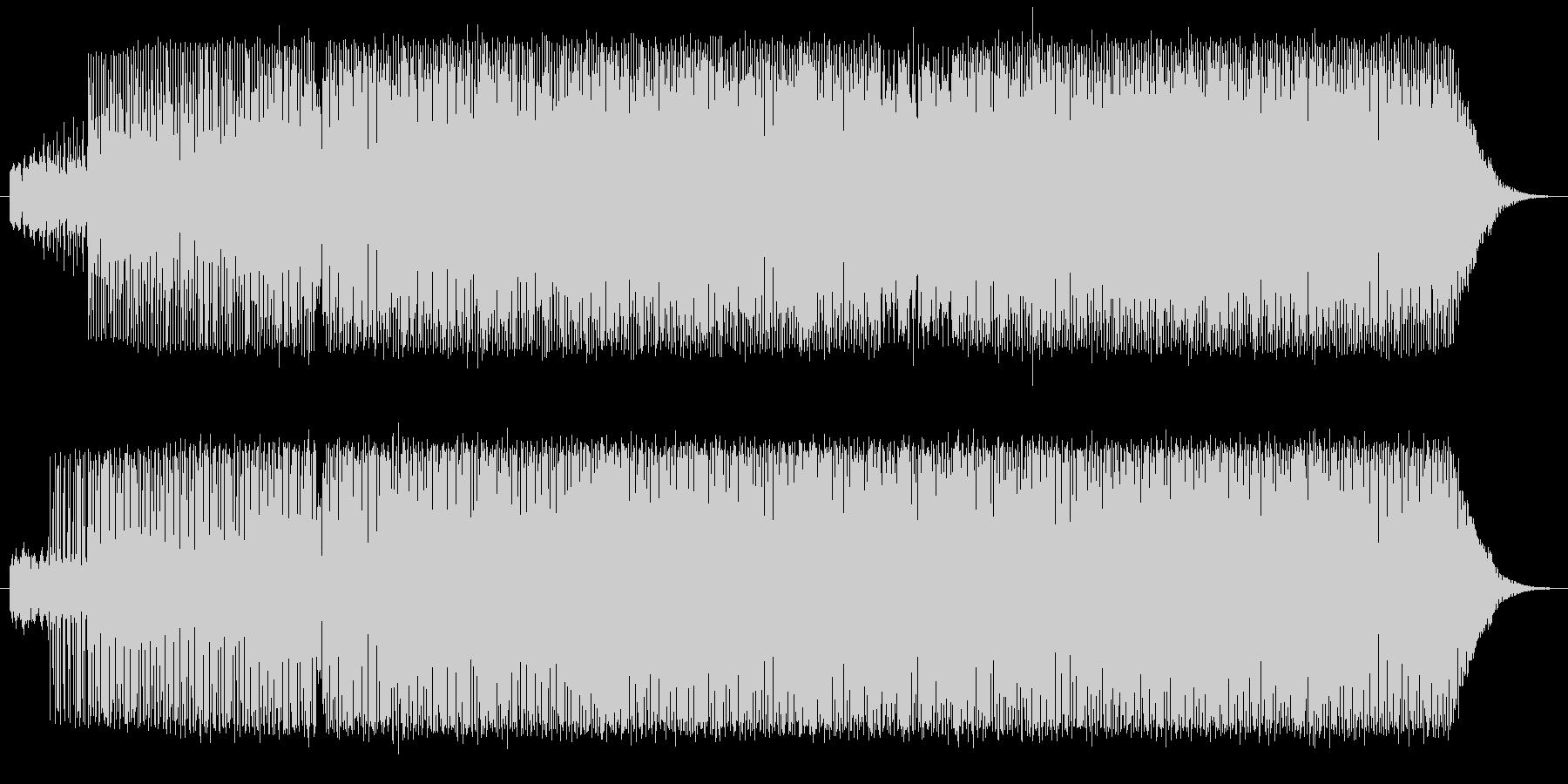 Piano Deep Houseの未再生の波形