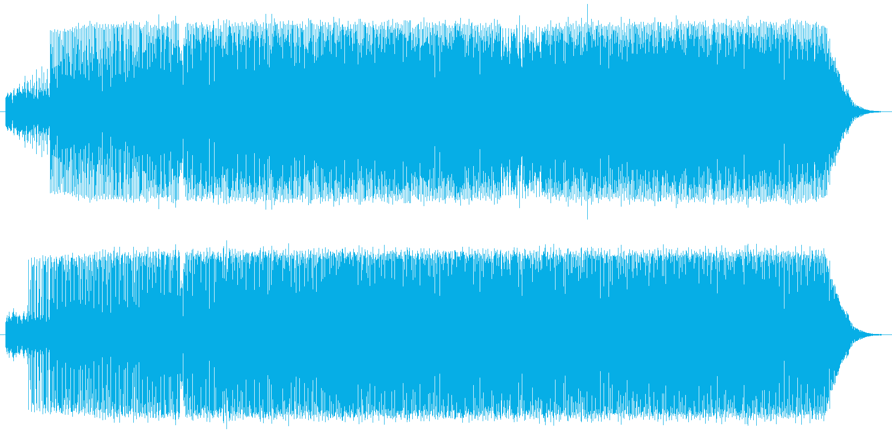 Piano Deep Houseの再生済みの波形