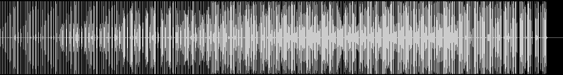 Hip-Hop90の未再生の波形