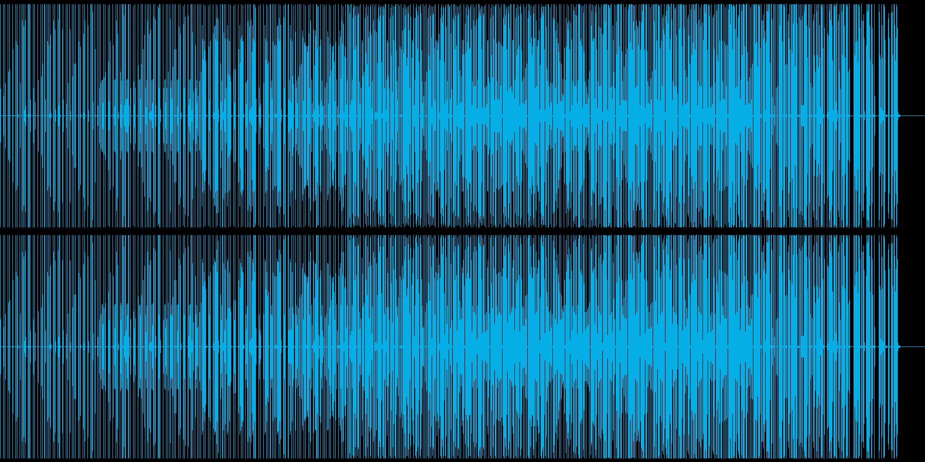 Hip-Hop90の再生済みの波形
