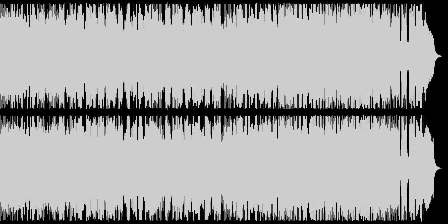 45秒 ヘビーメタル ダークフィールドの未再生の波形