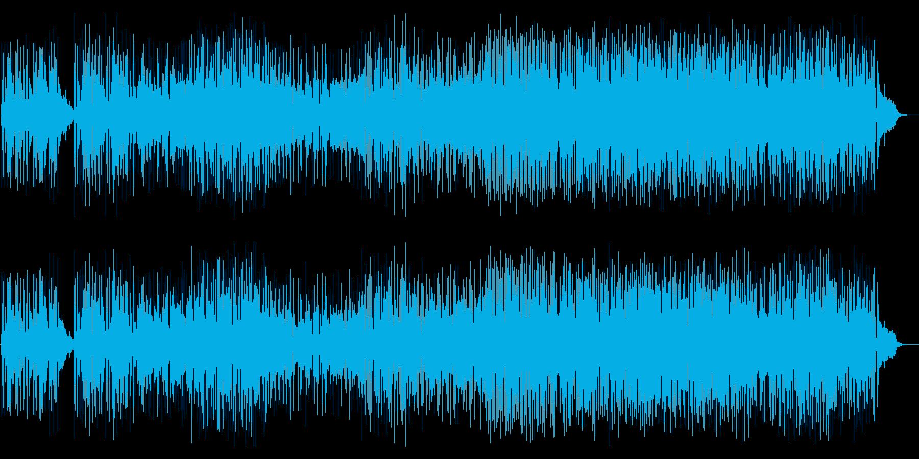 カフェミュージック:クラシックギターの再生済みの波形