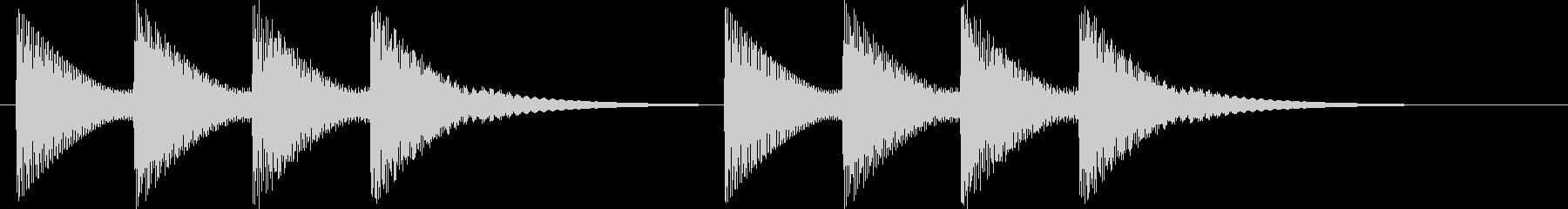 テロリラテロリラ(アラートに最適)の未再生の波形