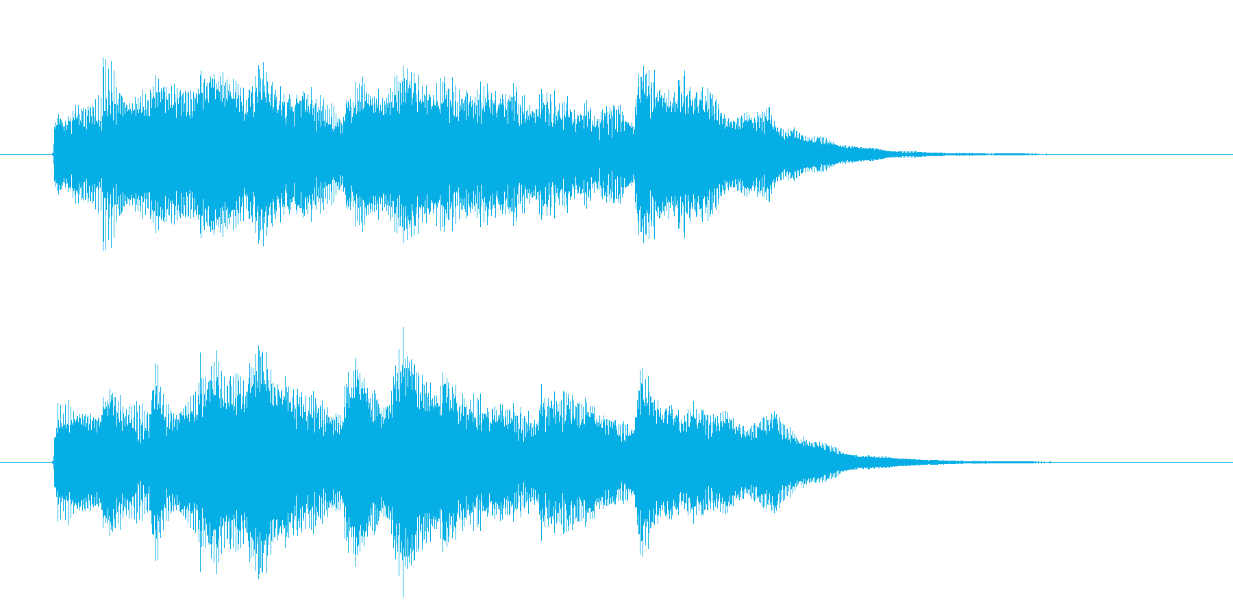 メロディアスで可憐なピアノジングルの再生済みの波形