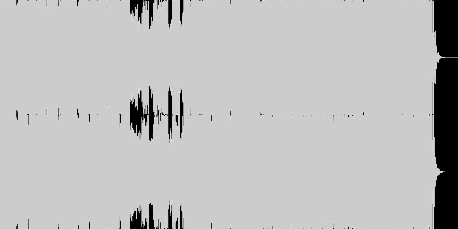 THE EDMの未再生の波形