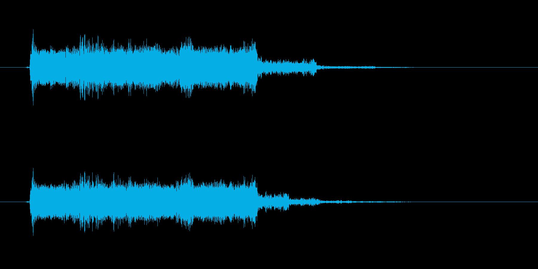 おしゃれギターサウンド(ジングル、転換)の再生済みの波形