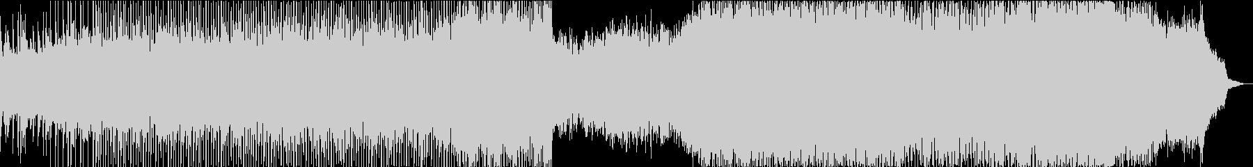 弦楽四重奏とシンセのポストクラシカルの未再生の波形