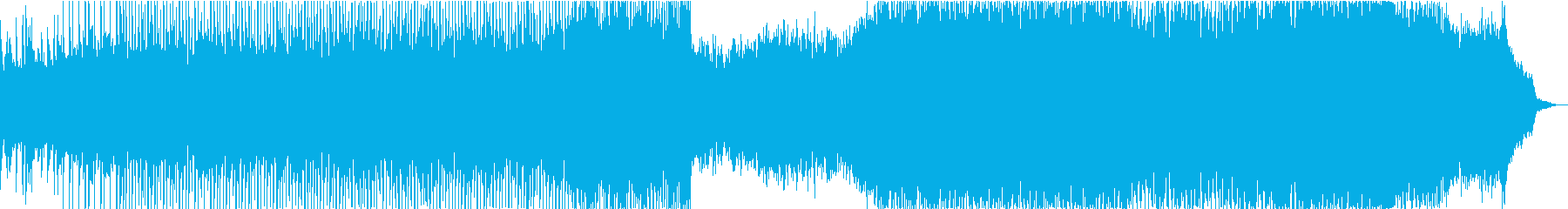 弦楽四重奏とシンセのポストクラシカルの再生済みの波形