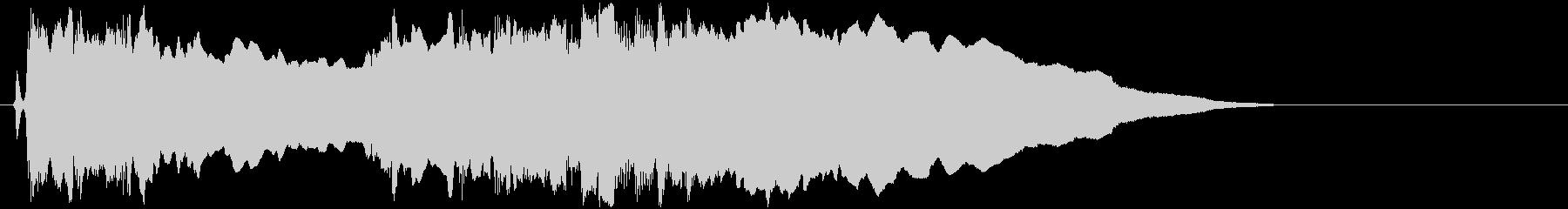 ギターフレーズ003の未再生の波形