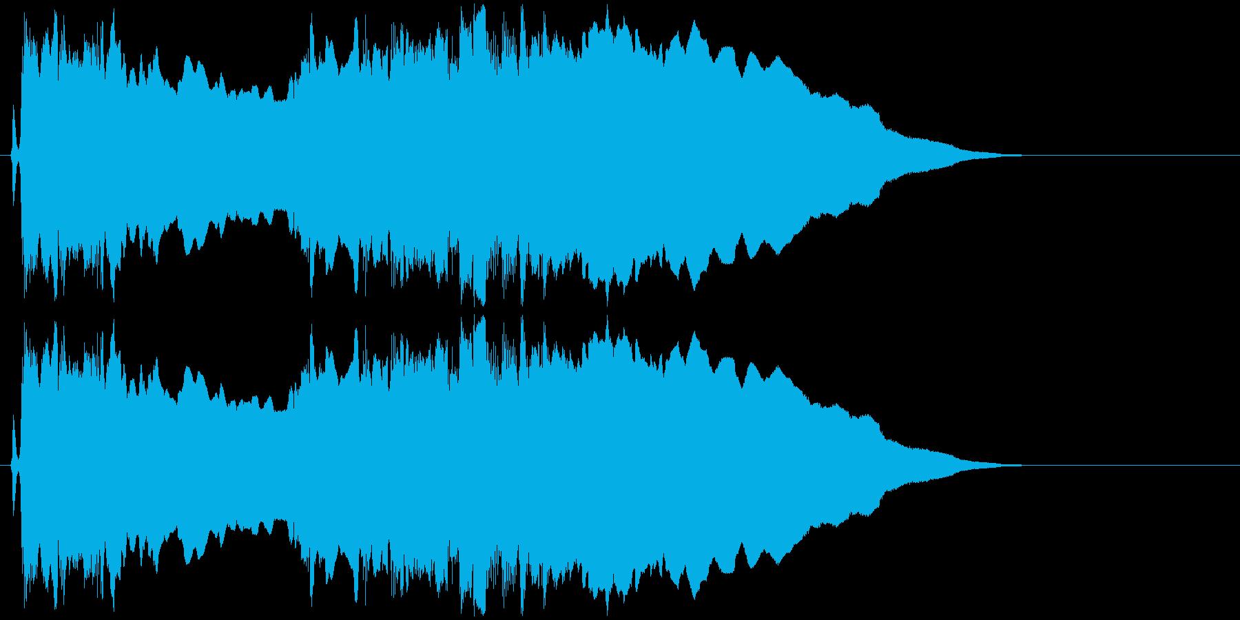 ギターフレーズ003の再生済みの波形