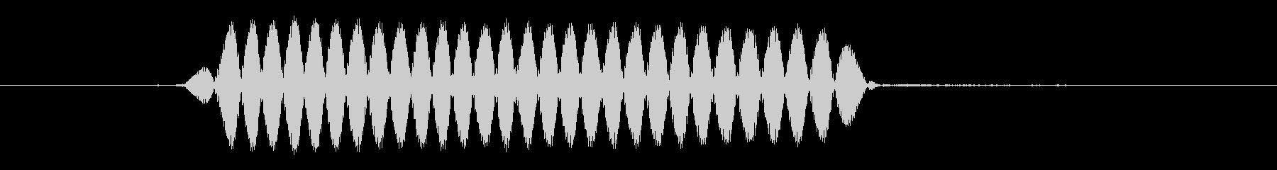 「ピッ」サッカー軽いファールの笛の未再生の波形