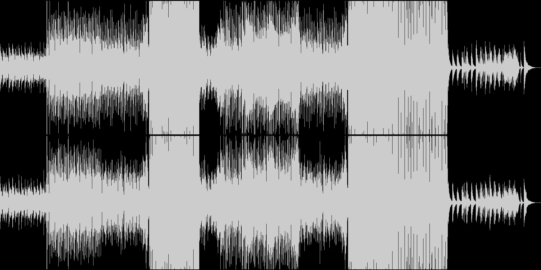 切ないR&Bバラードインストの未再生の波形